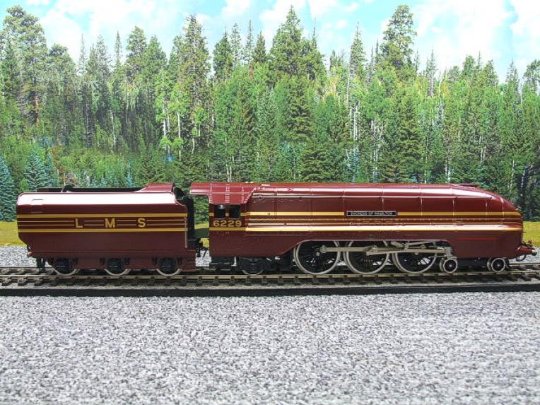 "Ace Trains E12B1 Coronation Pacific LMS Maroon ""Duchess of Hamilton & x7 Coaches Set"" Elec 2/3 Rail image 13"