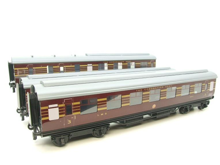 "Ace Trains E12B1 Coronation Pacific LMS Maroon ""Duchess of Hamilton & x7 Coaches Set"" Elec 2/3 Rail image 19"