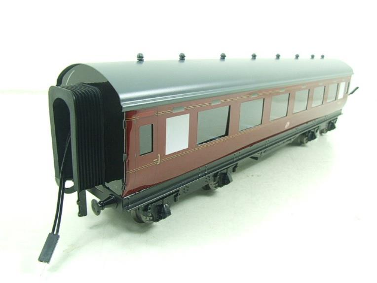 Darstaed O Gauge BR Maroon Period 2 Mainline Coaches x3 Set Bxd 2/3 Rail Set A image 14