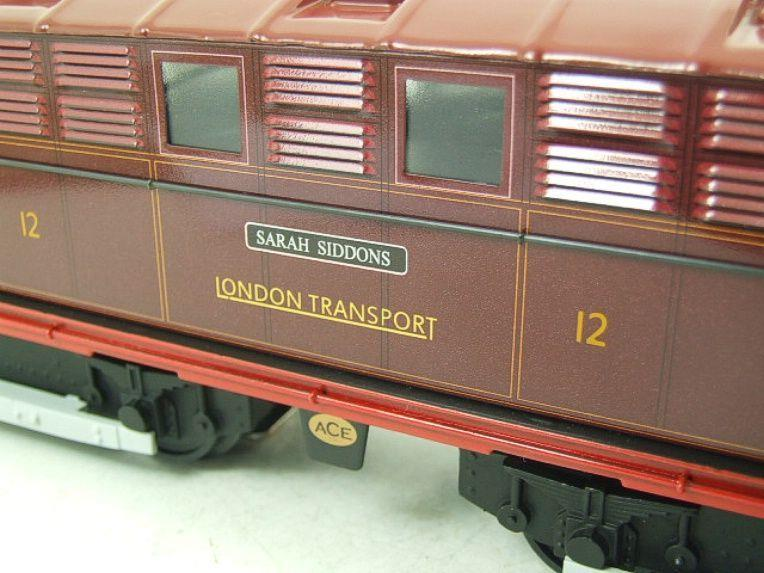 "Ace Trains O Gauge E17 London Transport Red Named ""Sarah Siddons"" Bo Bo Loco No 12 Electric 2/3 Rail image 11"