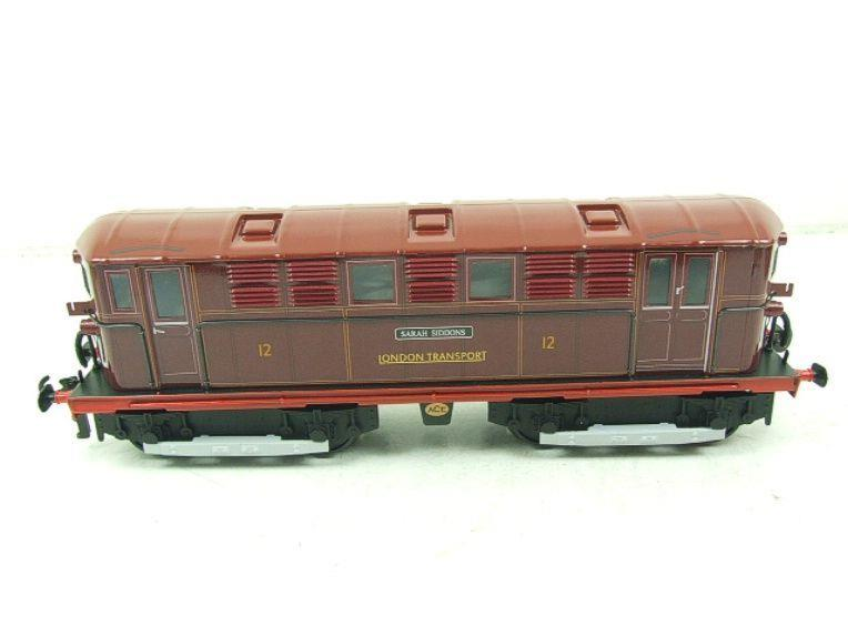 "Ace Trains O Gauge E17 London Transport Red Named ""Sarah Siddons"" Bo Bo Loco No 12 Electric 2/3 Rail image 12"