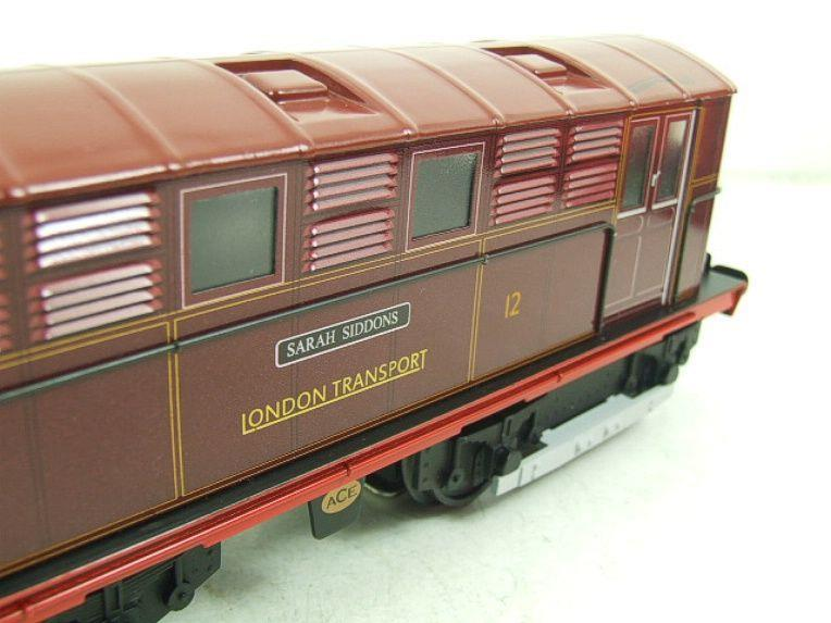 "Ace Trains O Gauge E17 London Transport Red Named ""Sarah Siddons"" Bo Bo Loco No 12 Electric 2/3 Rail image 13"