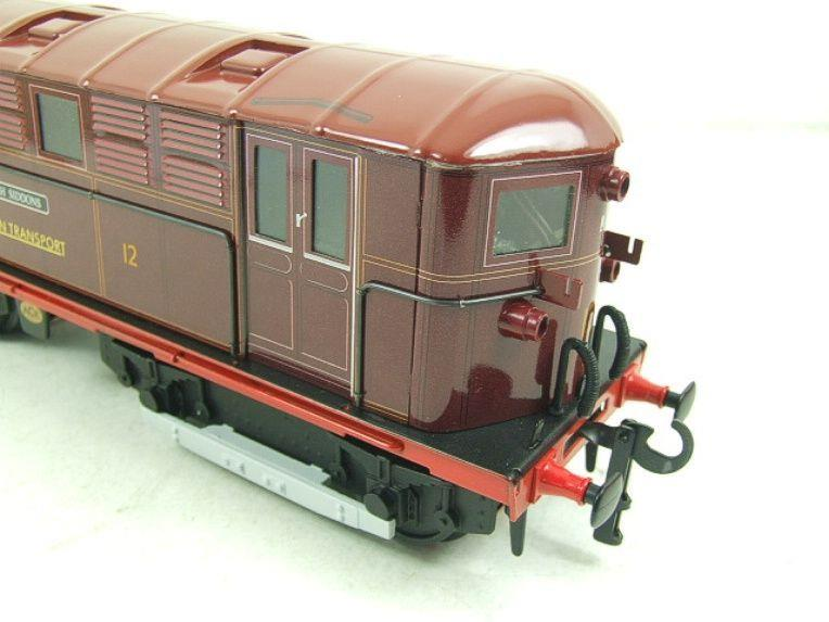 "Ace Trains O Gauge E17 London Transport Red Named ""Sarah Siddons"" Bo Bo Loco No 12 Electric 2/3 Rail image 14"