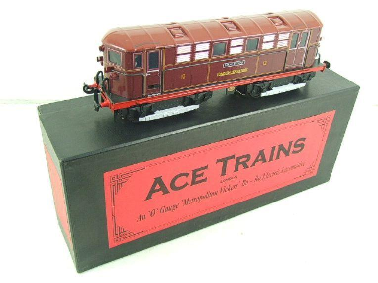 "Ace Trains O Gauge E17 London Transport Red Named ""Sarah Siddons"" Bo Bo Loco No 12 Electric 2/3 Rail image 17"