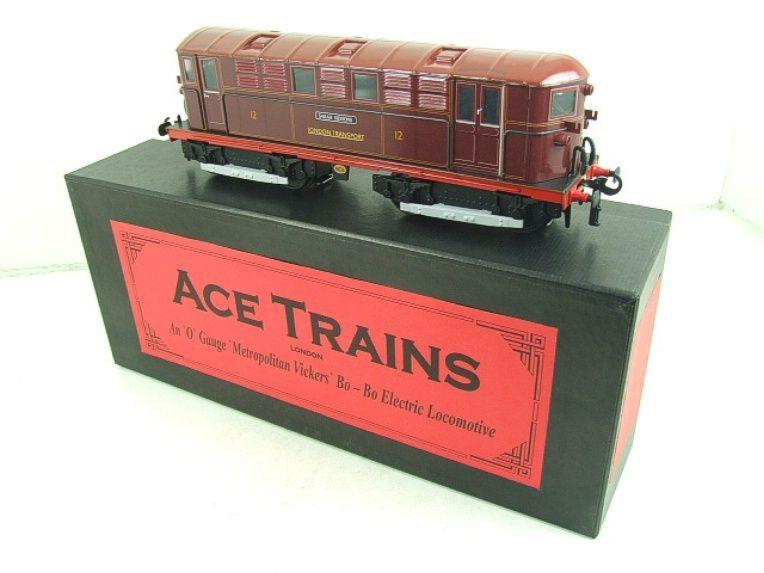 "Ace Trains O Gauge E17 London Transport Red Named ""Sarah Siddons"" Bo Bo Loco No 12 Electric 2/3 Rail image 18"
