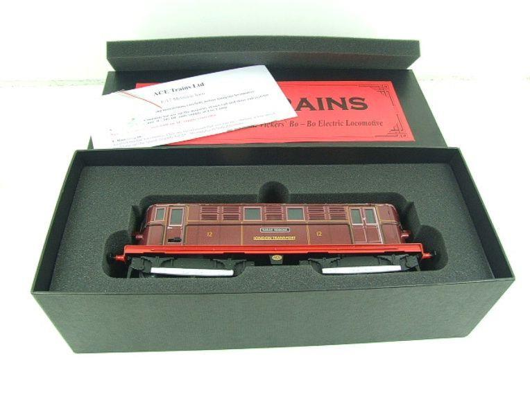 "Ace Trains O Gauge E17 London Transport Red Named ""Sarah Siddons"" Bo Bo Loco No 12 Electric 2/3 Rail image 19"