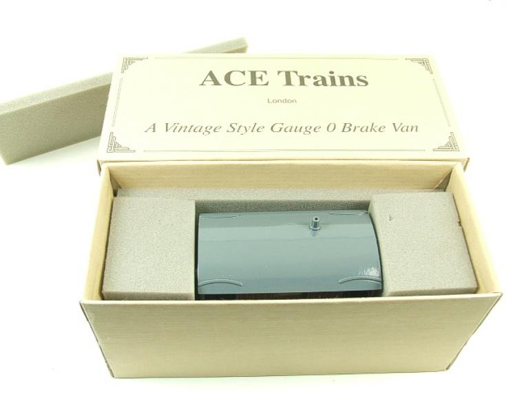 Ace Trains O Gauge G4 Vintage Style Brake Van With Lighting Boxed image 11