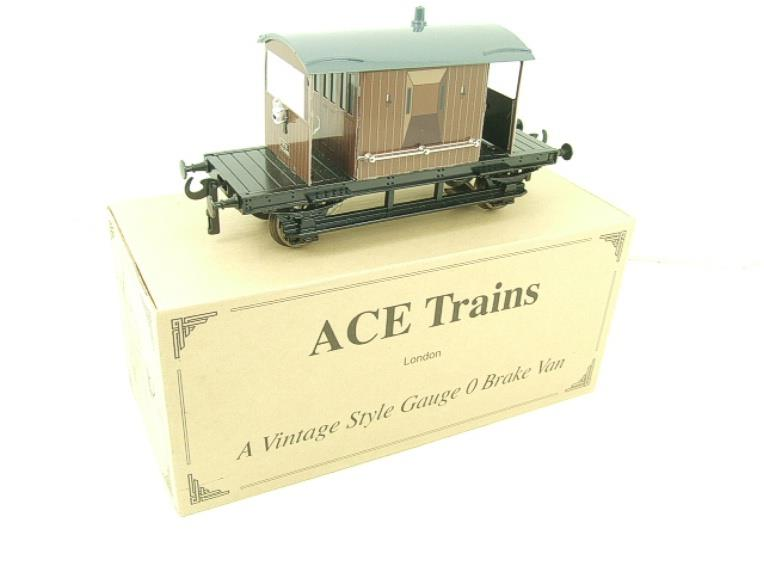 Ace Trains O Gauge G4 Vintage Style Brake Van With Lighting Boxed image 15