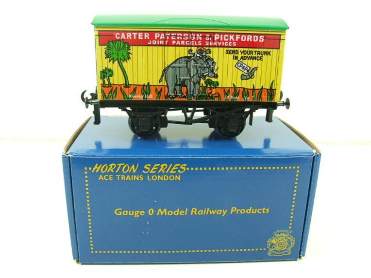 "Ace Trains Horton Series O Gauge PO ""Carter Paterson & Pickfords"" Van No7 Boxed image 12"