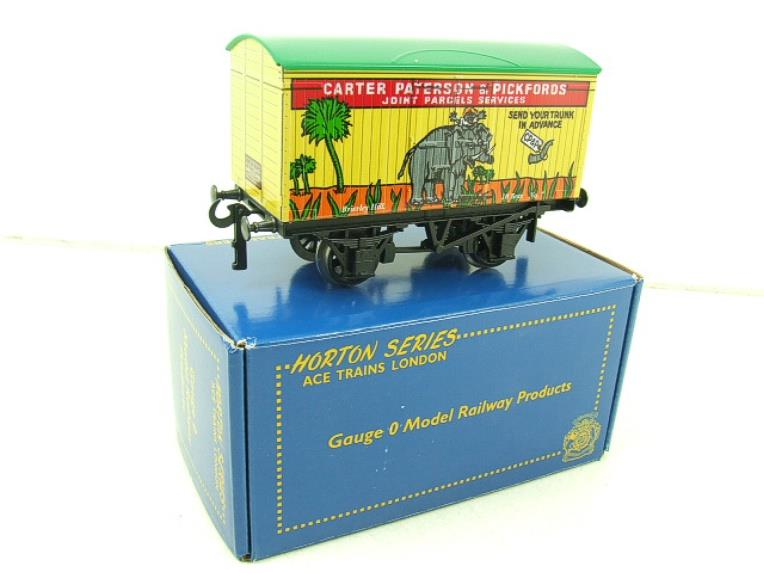 "Ace Trains Horton Series O Gauge PO ""Carter Paterson & Pickfords"" Van No7 Boxed image 13"