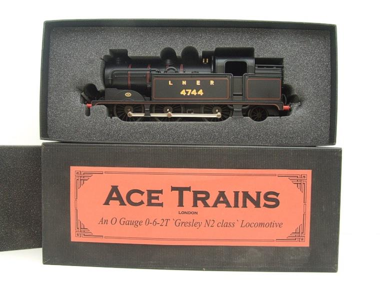 Ace Trains O Gauge E11A LNER Satin Black N2 Class 0-6-2 Tank Loco R/N 4744 Electric 2/3 Rail Boxed image 18