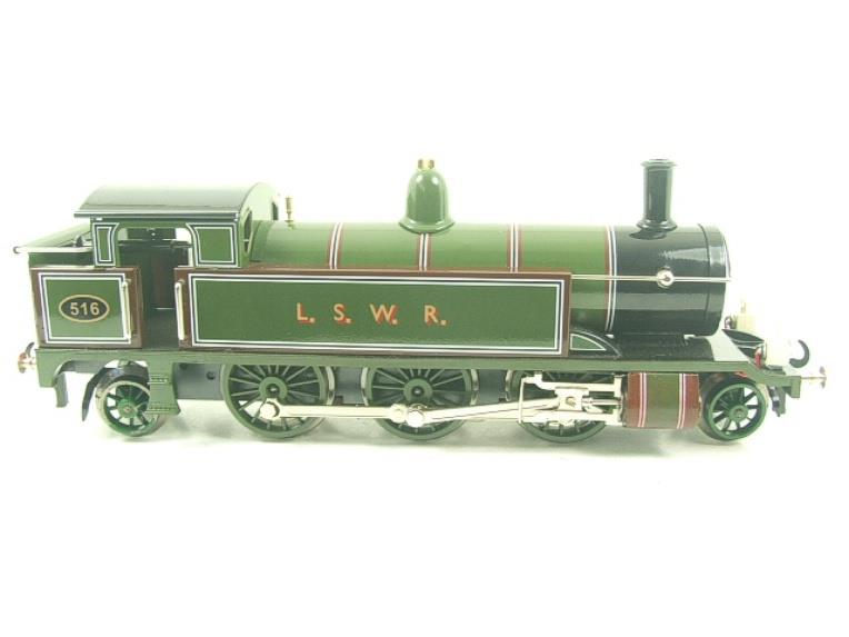 "Darstaed O Gauge ""LSWR"" Green 2-6-2 Tank Loco R/N 516 Electric 3 Rail Boxed image 11"