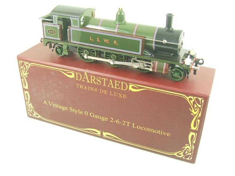 "Darstaed O Gauge ""LSWR"" Green 2-6-2 Tank Loco R/N 516 Electric 3 Rail Boxed image 18"