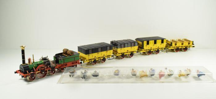 Gauge 1 Marklin 5750 Adler Steam Loco Collectors Set Electric 2 Rail Boxed image 18