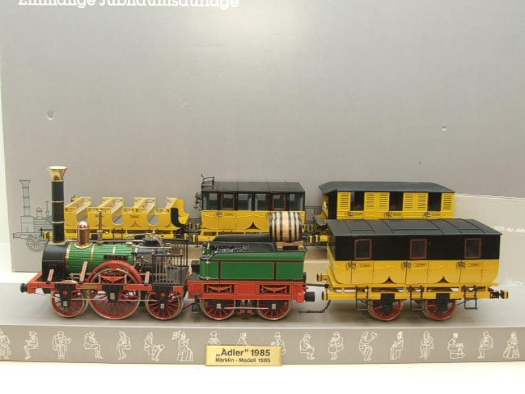 Gauge 1 Marklin 5750 Adler Steam Loco Collectors Set Electric 2 Rail Boxed image 22