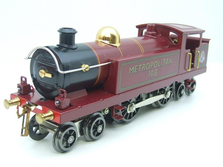 "Ace Trains O Gauge EMR/1 ""Metropolitan"" 4-4-4 Tank Loco R/N 108 Electric 3 Rail Boxed image 13"