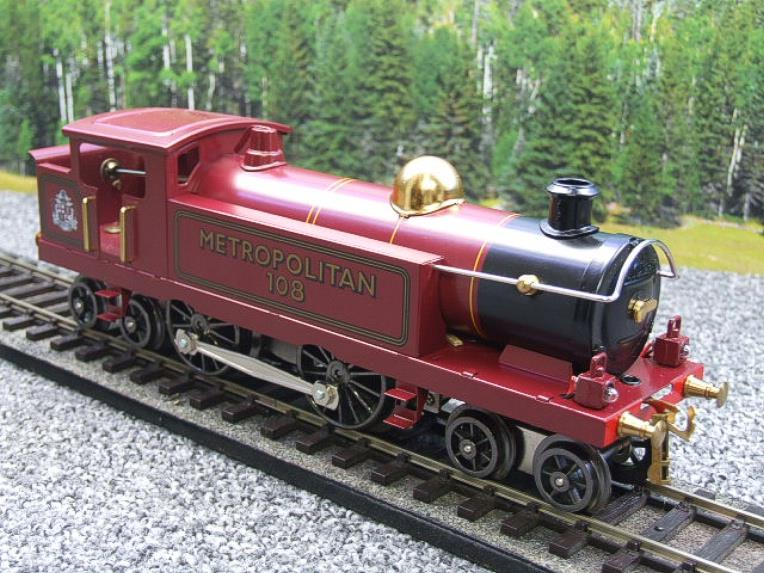 "Ace Trains O Gauge EMR/1 ""Metropolitan"" 4-4-4 Tank Loco R/N 108 Electric 3 Rail Boxed image 14"