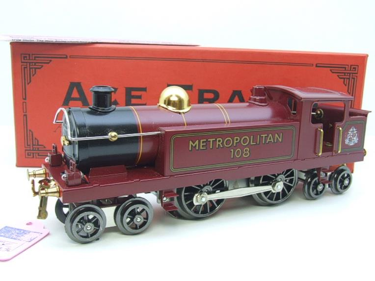 "Ace Trains O Gauge EMR/1 ""Metropolitan"" 4-4-4 Tank Loco R/N 108 Electric 3 Rail Boxed image 15"