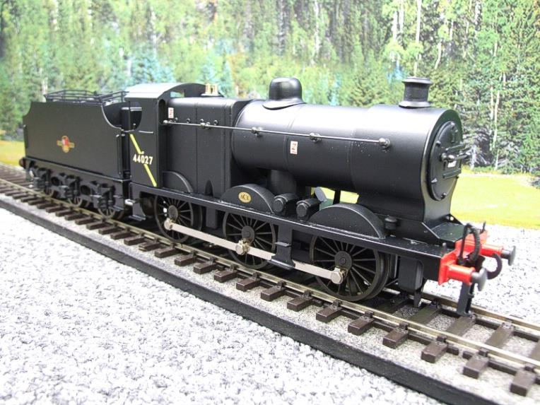 Ace Trains O Gauge E5H Fowler 4F Class 0-6-0 Loco and Tender R/N 44027 BR Post 57 Logo Satin Black image 11