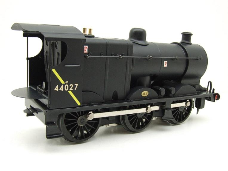 Ace Trains O Gauge E5H Fowler 4F Class 0-6-0 Loco and Tender R/N 44027 BR Post 57 Logo Satin Black image 12