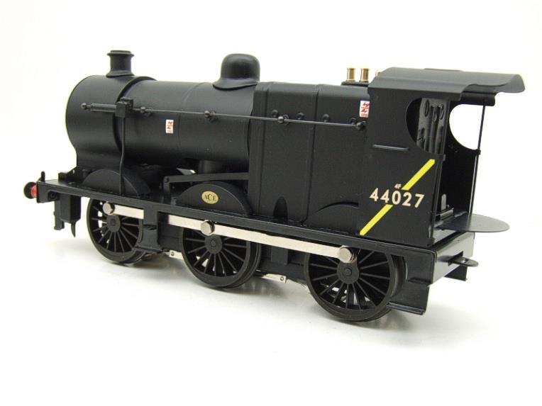 Ace Trains O Gauge E5H Fowler 4F Class 0-6-0 Loco and Tender R/N 44027 BR Post 57 Logo Satin Black image 13