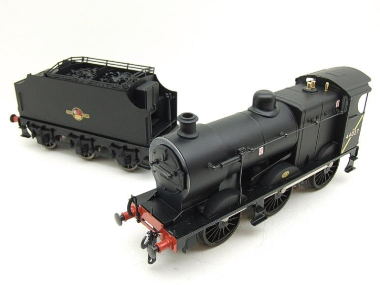Ace Trains O Gauge E5H Fowler 4F Class 0-6-0 Loco and Tender R/N 44027 BR Post 57 Logo Satin Black image 19