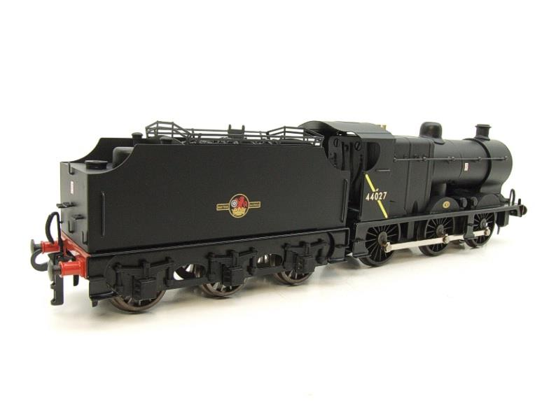 Ace Trains O Gauge E5H Fowler 4F Class 0-6-0 Loco and Tender R/N 44027 BR Post 57 Logo Satin Black image 21