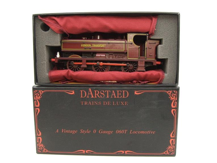 "Darstaed O Gauge LT ""London Transport"" Pannier Tank Loco L.95 Electric 3 Rail Boxed image 15"
