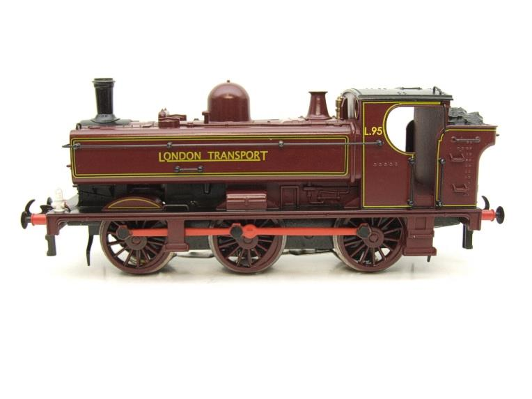 "Darstaed O Gauge LT ""London Transport"" Pannier Tank Loco L.95 Electric 3 Rail Boxed image 19"