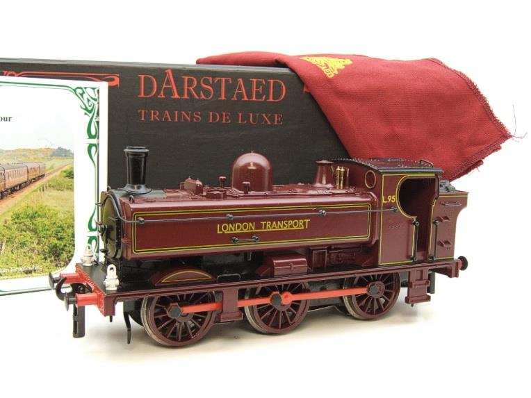 "Darstaed O Gauge LT ""London Transport"" Pannier Tank Loco L.95 Electric 3 Rail Boxed image 20"