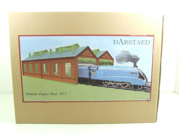 Darstaed O Gauge ES2 Double Track Engine Shed Electric Boxed image 15