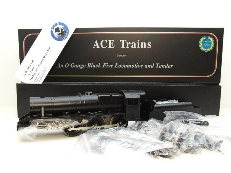 Ace Trains O Gauge E19-K3, Black 5, With Dome & Riveted Tender Loco Kit Form 2/3 Rail Bxd Brand NEW image 15