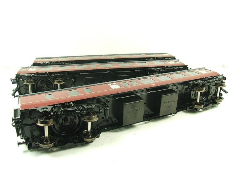 Ace Trains O Gauge C13B BR MK1 MR Coaches x3 Set B Boxed 2/3 Rail image 15
