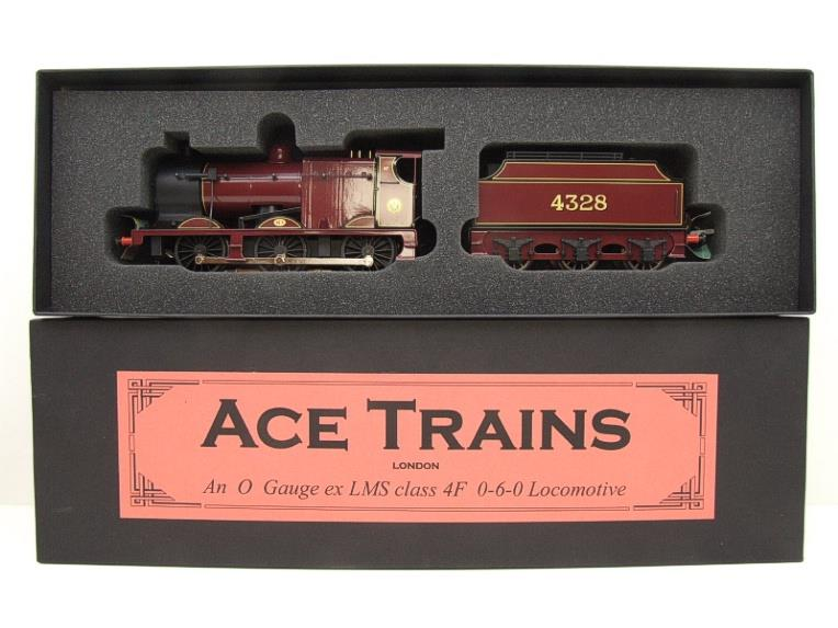 Ace Trains O Gauge E5A1 Fowler 4F Class 0-6-0 Loco and Tender R/N 4328 LMS Gloss Maroon Lined image 18