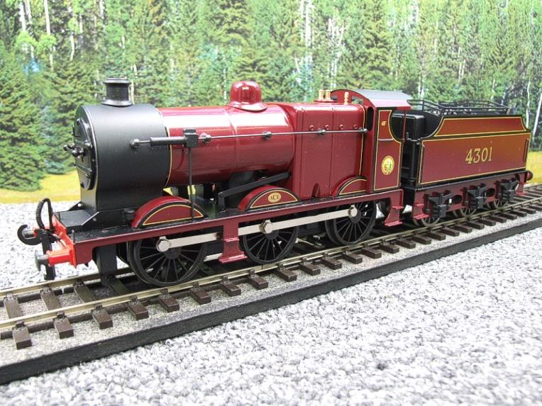 Ace Trains O Gauge E5A2 Fowler 4F Class 0-6-0 Loco and Tender R/N 4301 LMS Gloss Maroon Lined image 16