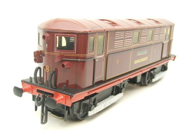 "Ace Trains O Gauge E17 London Transport Red Vickers Bo-Bo ""Sherlock Holmes"" Loco No 8 image 12"