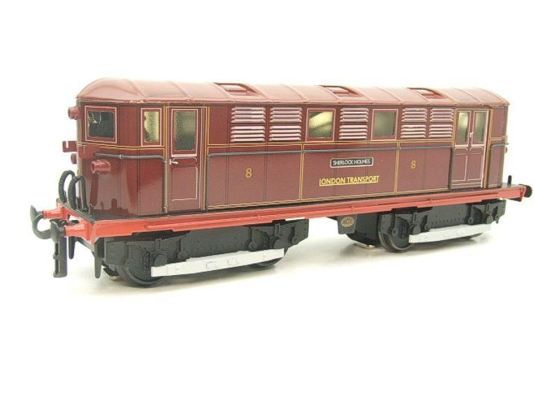 "Ace Trains O Gauge E17 London Transport Red Vickers Bo-Bo ""Sherlock Holmes"" Loco No 8 image 17"