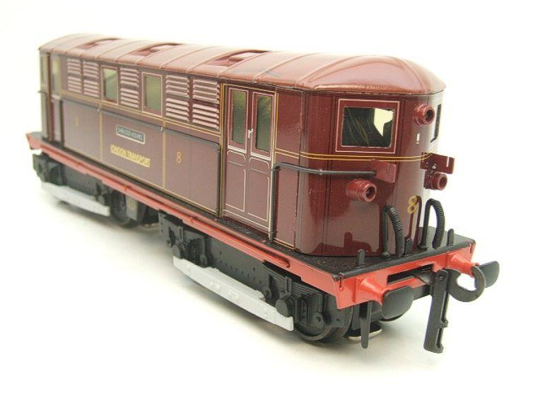 "Ace Trains O Gauge E17 London Transport Red Vickers Bo-Bo ""Sherlock Holmes"" Loco No 8 image 19"
