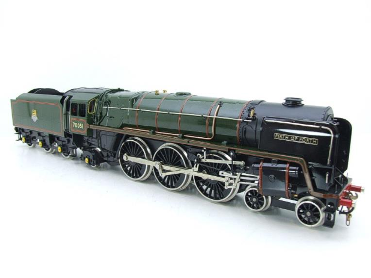"Ace Trains O Gauge E27L BR Britannia Class ""Firth of Forth"" RN 70051 Electric 2/3 Rail Boxed image 12"