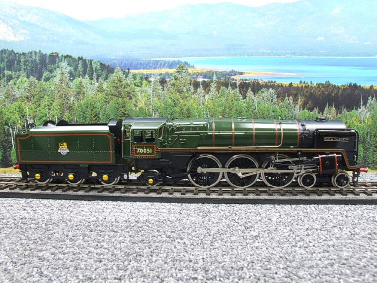 "Ace Trains O Gauge E27L BR Britannia Class ""Firth of Forth"" RN 70051 Electric 2/3 Rail Boxed image 14"