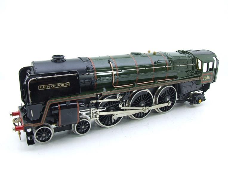 "Ace Trains O Gauge E27L BR Britannia Class ""Firth of Forth"" RN 70051 Electric 2/3 Rail Boxed image 15"