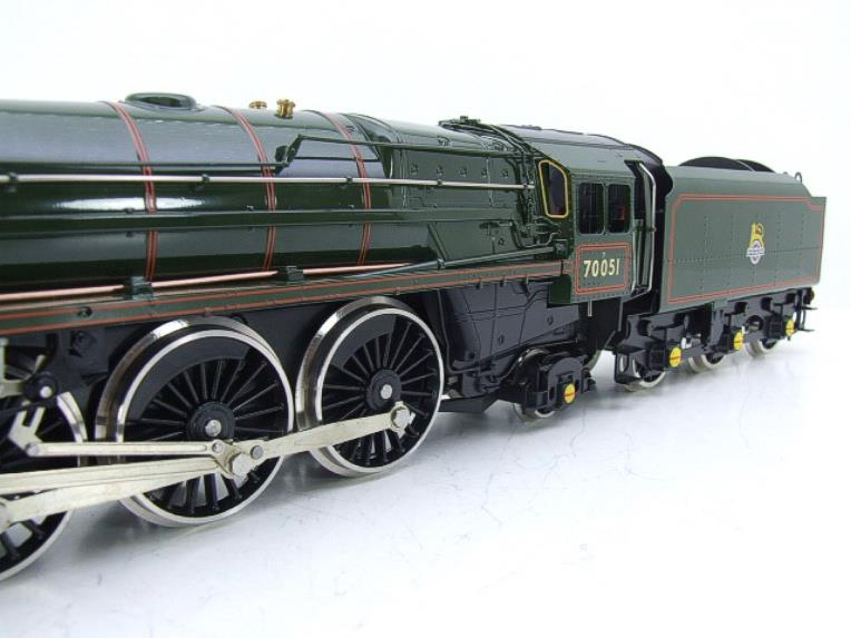 "Ace Trains O Gauge E27L BR Britannia Class ""Firth of Forth"" RN 70051 Electric 2/3 Rail Boxed image 17"