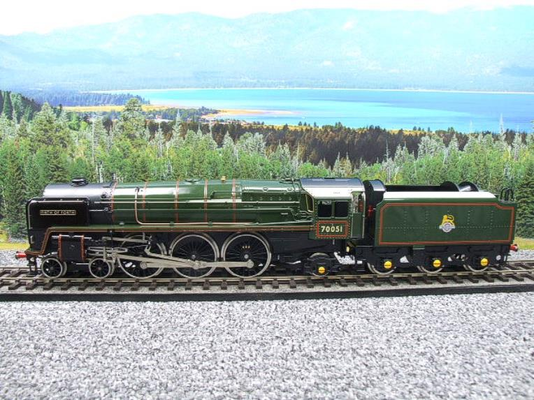 "Ace Trains O Gauge E27L BR Britannia Class ""Firth of Forth"" RN 70051 Electric 2/3 Rail Boxed image 18"