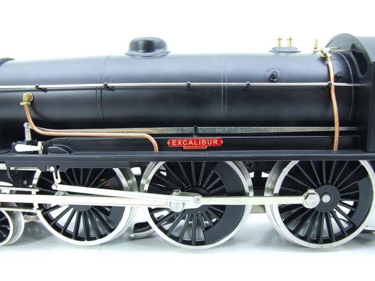 "ACE Trains O Gauge E/34-D1 Bulleid SR Wartime Satin Black 4-6-0 ""Excalibur"" 736 Elec 2/3 Rail image 11"