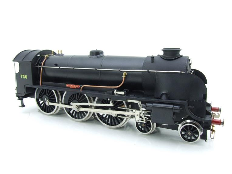 "ACE Trains O Gauge E/34-D1 Bulleid SR Wartime Satin Black 4-6-0 ""Excalibur"" 736 Elec 2/3 Rail image 16"
