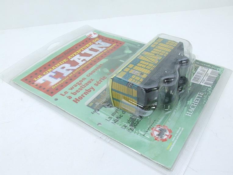 "Hornby Hachette Series French O Gauge No.4 ""ETAT"" Bestiaux Cattle Wagon NEW Pack image 12"