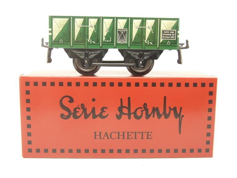 "Hornby Hachette Series French O Gauge No.5 Green 20 Ton ""Open Mineral"" Wagon NEW Pack image 11"