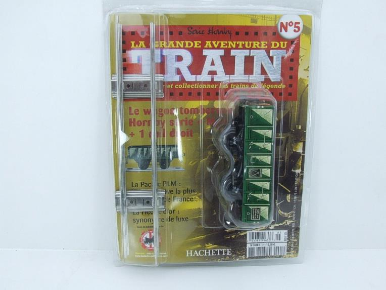 "Hornby Hachette Series French O Gauge No.5 Green 20 Ton ""Open Mineral"" Wagon NEW Pack image 15"