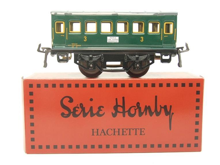 "Hornby Hachette Series French O Gauge No.66 ""SNCF"" Green 3rd Class Coach NEW Pack image 11"