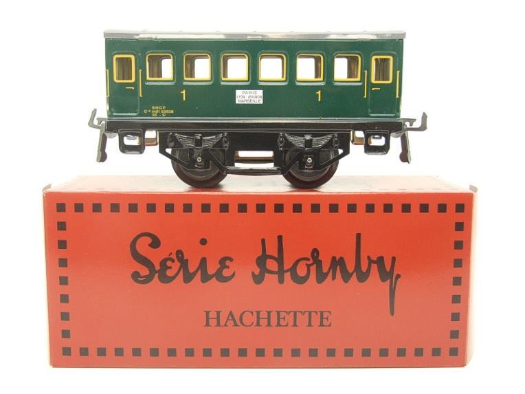 "Hornby Hachette Series French O Gauge No.13 ""SNCF"" Green 1st Class Coach NEW Pack image 11"
